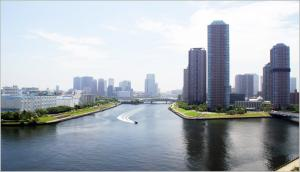 Sumida Riverside Tower_1601 Floor Plan