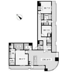 Chikusa Tower Hills Floor Plan