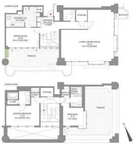 Ark Towers West W2103 Floor Plan