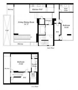 Hillstone Estate 201 Floor Plan