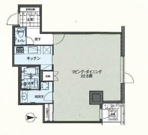Daikanyama Plaza 605 Floor Plan