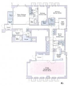 Aoyama Town House Anex 202 Floor Plan