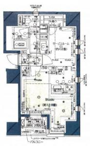 Pias Ginza 8-chome 203 Floor Plan