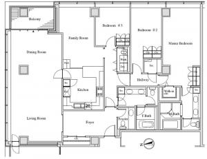 Homat Viscount 2601 Floor Plan