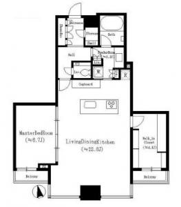 Tomihisa Cross confort Tower 5507 Floor Plan