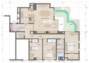 Eastern Homes Hiroo 101 Floor Plan