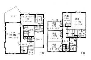 Hill Court Yoyogi B 201 Floor Plan