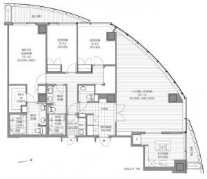 Atago Green Hills Forest Tower 4004 Floor Plan