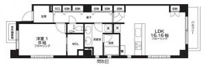Fortuna Motoazabu 302 Floor Plan
