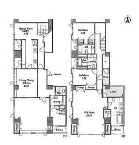 Prime Square City 1201 Floor Plan