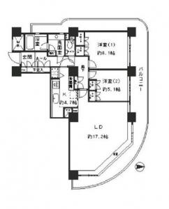 River Point Tower 1901 Floor Plan