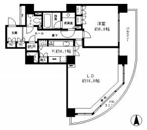 River Point Tower 1605 Floor Plan
