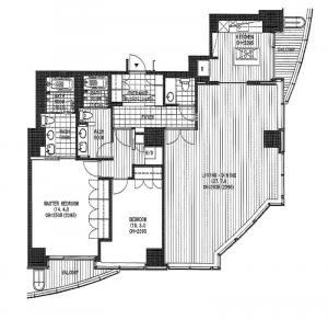 Atago Green Hills Forest Tower 3301 Floor Plan