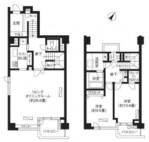 Sangubashi Mansion 501 Floor Plan