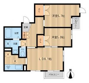 Motazabu Forest Plaza  2 102 Floor Plan
