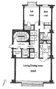Bluff 100 5B Floor Plan