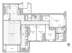 KARA BLANC 105 Floor Plan