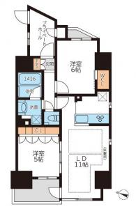 Grand Casa Honkomagome 601 Floor Plan