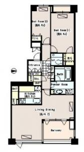 Park House Azabu-Kasumicho 207 Floor Plan