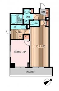 La Paul Mita 301 Floor Plan