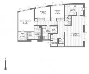 Forest Terrace Shoto 307 Floor Plan