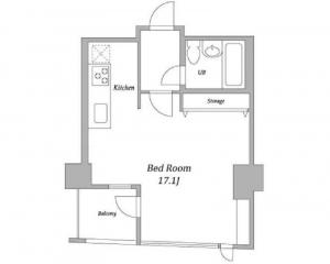 Prime Square City 312 Floor Plan