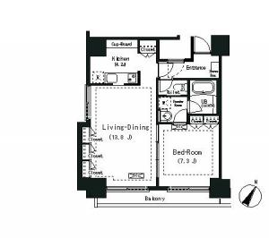 ELSTANZA 702 Floor Plan