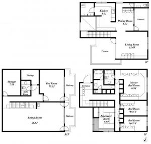 Denenchofu M House Floor Plan