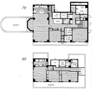 Le Grand Sanbancho 701 Floor Plan