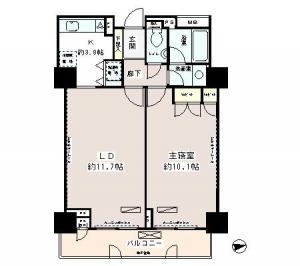 Park Avenue Jinnan 603 Floor Plan