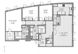 Forest Terrace Shoto 207 Floor Plan
