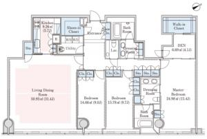 La Tour Mita 4302 Floor Plan
