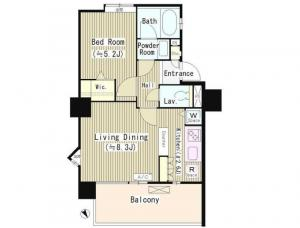 IN THE GARDEN 906 Floor Plan