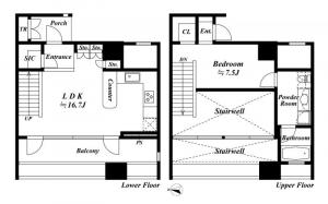 World City Towers Breeze Tower 34F Floor Plan