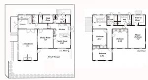 Seta 2-chome House Floor Plan