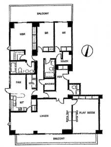 Nishiazabu Manor House 201 Floor Plan