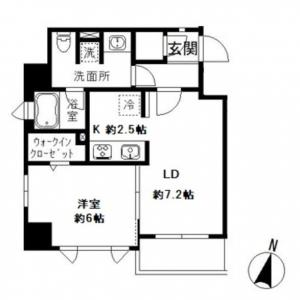 Court Hill Hongo 403 Floor Plan