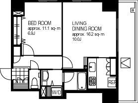 Gotenyama Terrace 601 Floor Plan