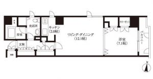 Shibazono Heights 201 Floor Plan