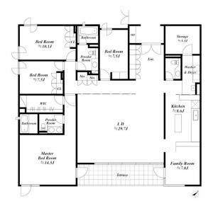 Shoto Hilltop House 302 Floor Plan