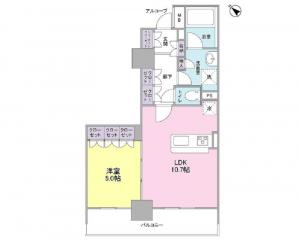Glenpark G-West 504 Floor Plan