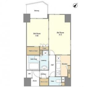Glenpark G-West 1001 Floor Plan