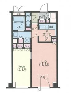 Joule A 1104 Floor Plan