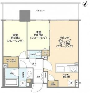 City Towers Tokyo Bay CENTRAL TOWER 10F Floor Plan