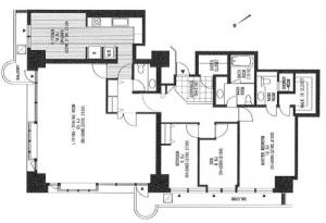 Ark Towers West W706 Floor Plan