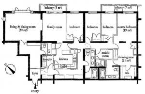 The Oak Hills 304 Floor Plan