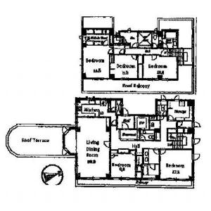 Le Grand Sanbancho Floor Plan