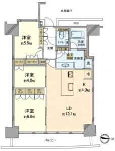 M.M. Towers Foresis Floor Plan