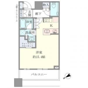 Brillia Tower Meguro South Residence 1305 Floor Plan