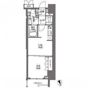 HAMACHO APARTMENTS 1301 Floor Plan